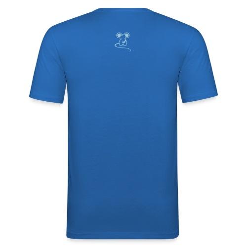 Men's Original mousey inc. Slim - Royal Blue - Men's Slim Fit T-Shirt