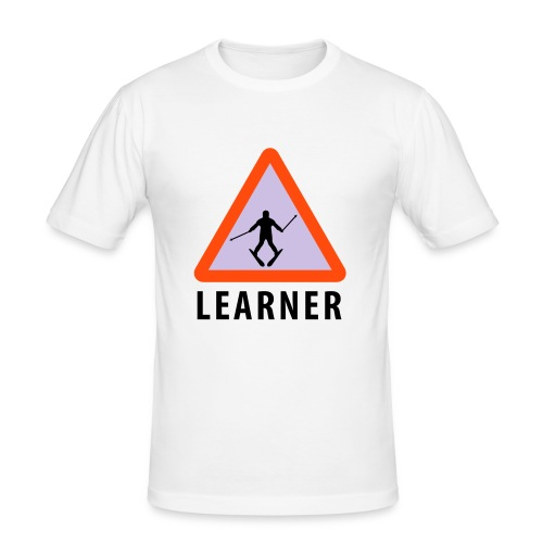 Learner - Slim Fit T-skjorte for menn
