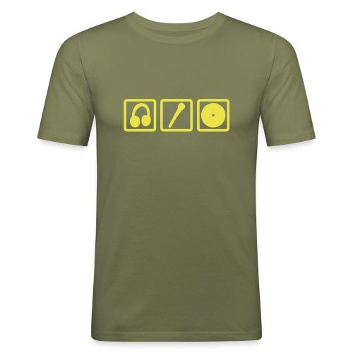 DJ - T-shirt près du corps Homme