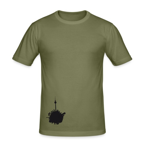 berlin.world style Men - Männer Slim Fit T-Shirt