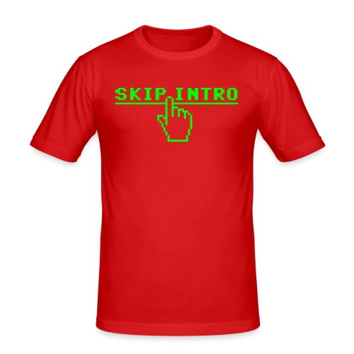 Skip intro - slim fit T-shirt