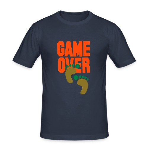 WalkedOnGameOver - Men's Slim Fit T-Shirt