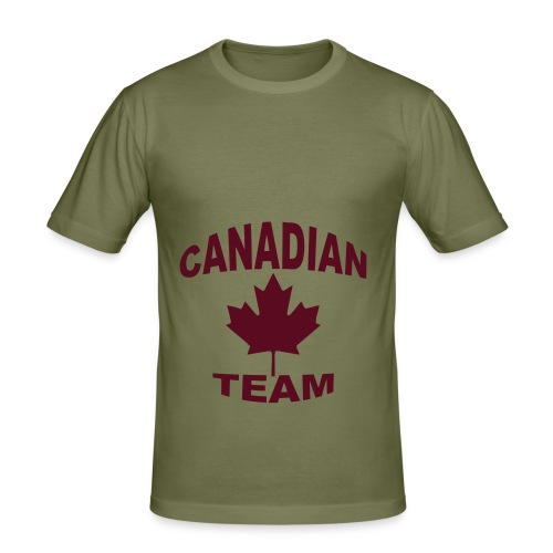 Men's Canadian Team Slim Fit T - Men's Slim Fit T-Shirt