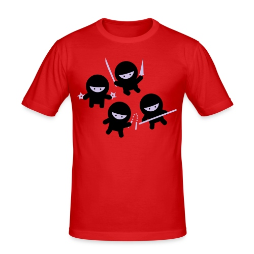 Ninja's Red - slim fit T-shirt