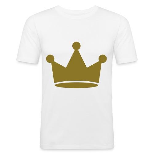 Retro - GuldKrone - Herre Slim Fit T-Shirt