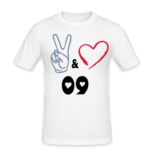 Peace & Love 09 Special Tight - Slim Fit T-shirt herr