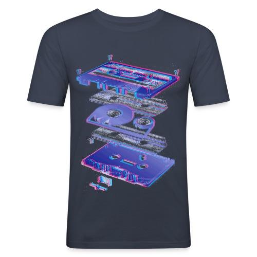 Cassette - Men's Slim Fit T-Shirt