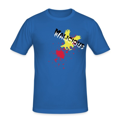 Malicious (Golden Eagel) - Men's Slim Fit T-Shirt