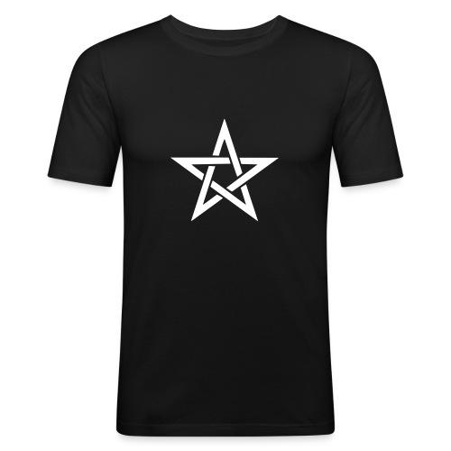 T-Shirt Pentacolo - Maglietta aderente da uomo