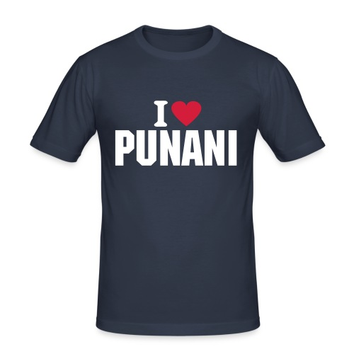 I love punani - slim fit T-shirt