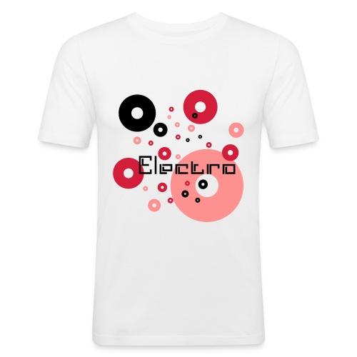 T-shirt  Electro - Obcisła koszulka męska