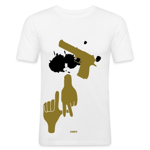 93 A L-A  (PERSO!) - T-shirt près du corps Homme