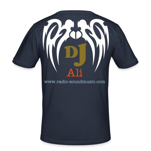 offizial Dj Shirt ali - Männer Slim Fit T-Shirt