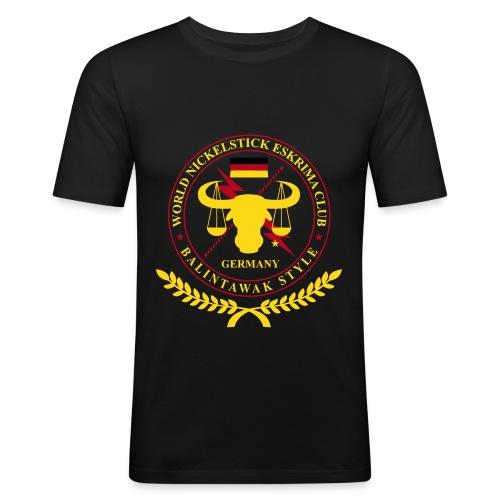 Nickelstick Balintawak Germany - Männer Slim Fit T-Shirt