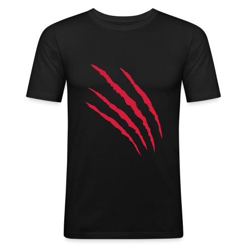 T-shirt Graffio - Maglietta aderente da uomo