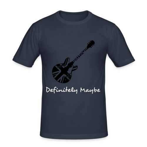 Oasis Definitely Maybe - Men's Slim Fit T-Shirt