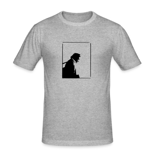 Johnny Cash - Men's Slim Fit T-Shirt
