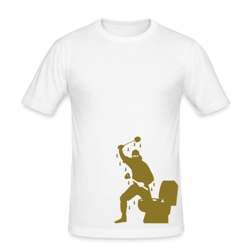 Golden Stealth - Men's Slim Fit T-Shirt