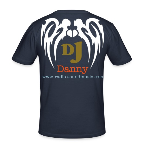 Offizial Dj Shirt Danny - Männer Slim Fit T-Shirt