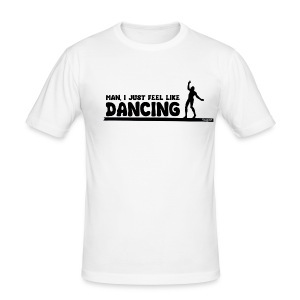 Men Shirt - Dancing - Männer Slim Fit T-Shirt