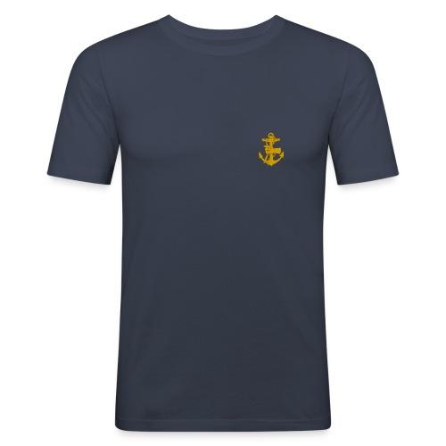 Förbm2 blå - Slim Fit T-shirt herr
