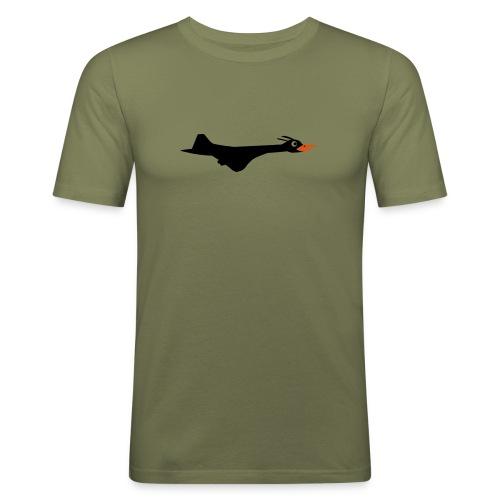 Supersonic, herre - Slim Fit T-skjorte for menn