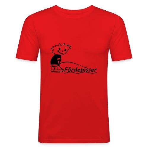 Fördepisser SlimFit - Männer Slim Fit T-Shirt