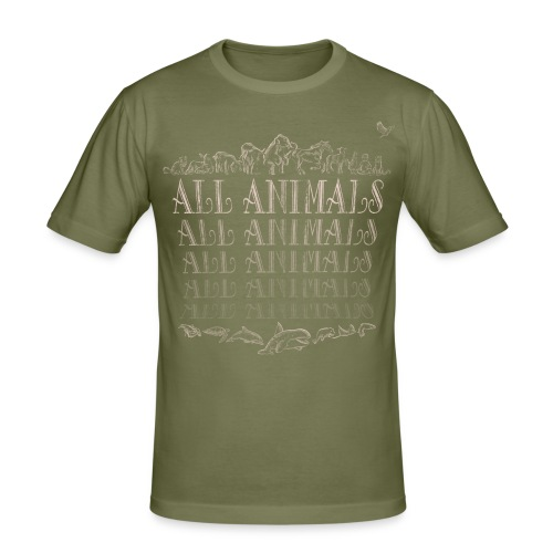 All Animals - Tee shirt près du corps Homme