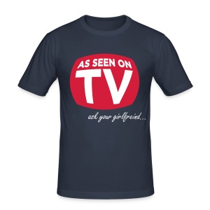 Ask your girlfreind - Men's Slim Fit T-Shirt