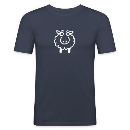 schaaaaaf - Männer Slim Fit T-Shirt