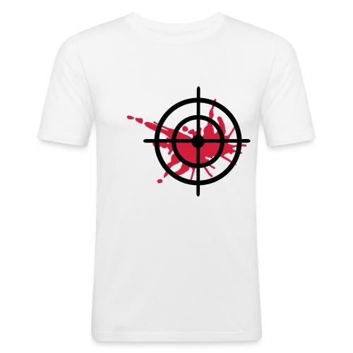 T-Shirt Target - Männer Slim Fit T-Shirt