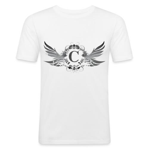 T-Shirt Man White - T-shirt près du corps Homme