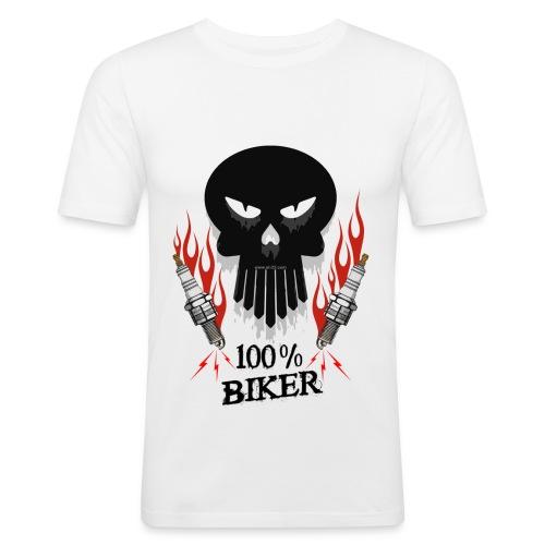 Kustom 100 - Maglietta aderente da uomo