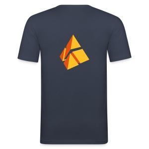 polymake Männer Slim-Fit-Shirt orange - Men's Slim Fit T-Shirt