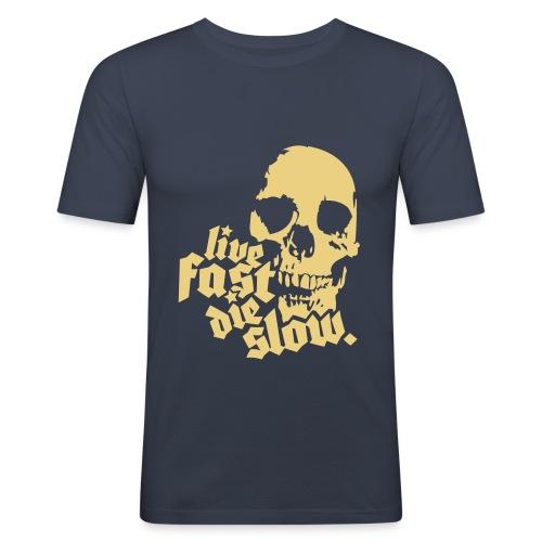 LIFE & DEATH design - Maglietta aderente da uomo