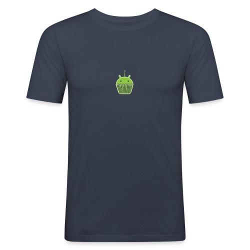 CupcakeDroid - T-shirt près du corps Homme