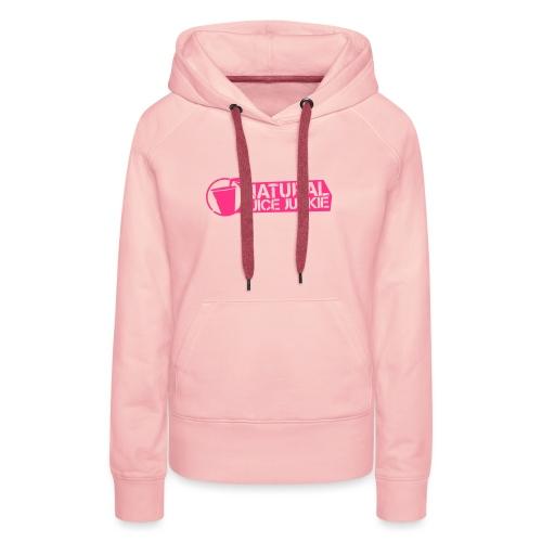 NJJ Hoodie (Ladies - Pink) - Women's Premium Hoodie