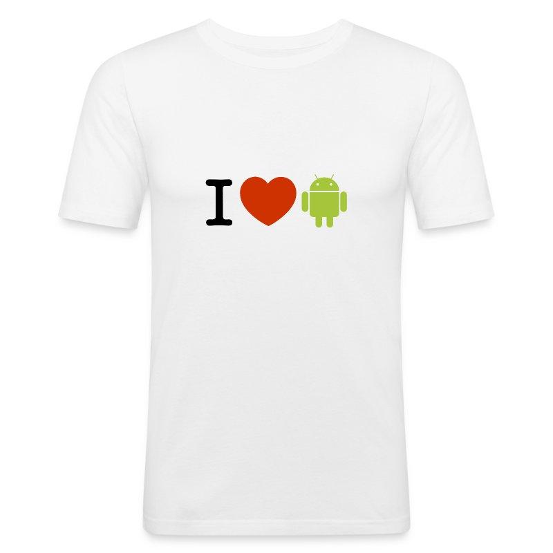 LoveDroid - Tee shirt près du corps Homme