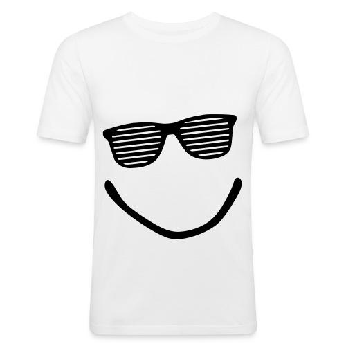 M. Schou Puls (White) - Herre Slim Fit T-Shirt