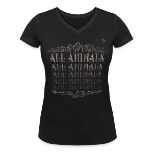 All Animals - BIO - T-shirt col V Femme