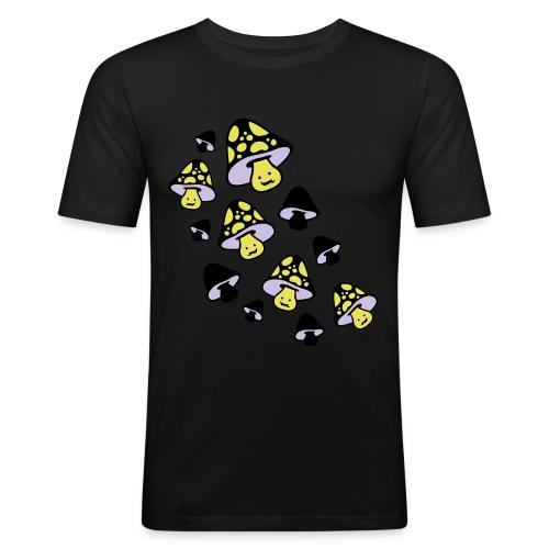 Family of spores // slimfit black - Slim Fit T-skjorte for menn