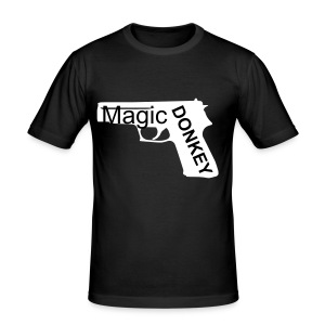 Magic Donkey Gun Tee - Men's Slim Fit T-Shirt
