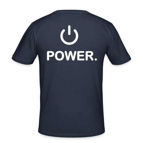 Power - T-shirt près du corps Homme
