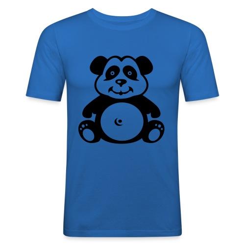 Panda - Männer Slim Fit T-Shirt