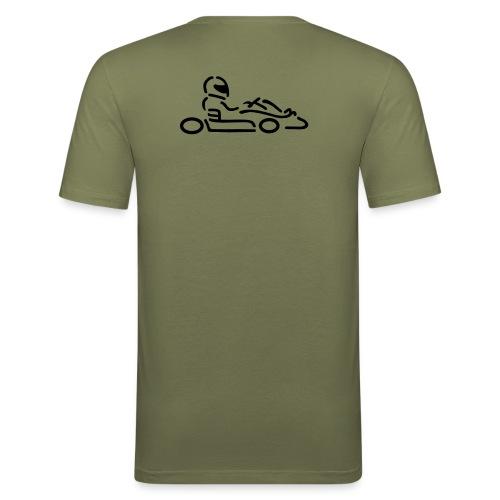 spruch - Männer Slim Fit T-Shirt
