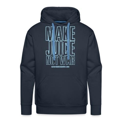 NJJ Hoodie (Mens - Make Juice Not War) - Men's Premium Hoodie