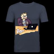 T-shirts ~ Slim Fit T-shirt herr ~ Artikelnummer 14722920
