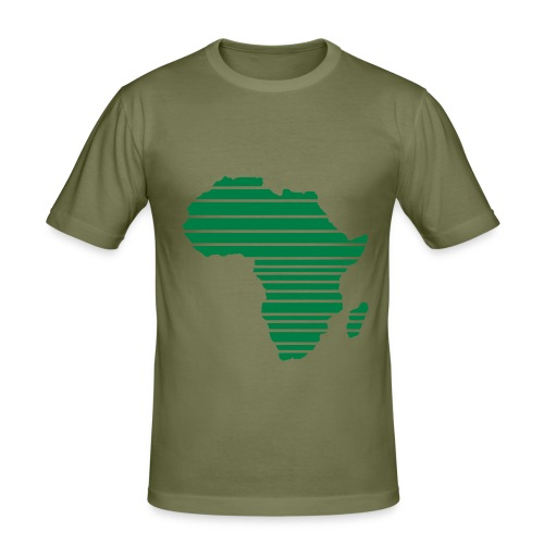 R.L.G Africa - T-shirt près du corps Homme