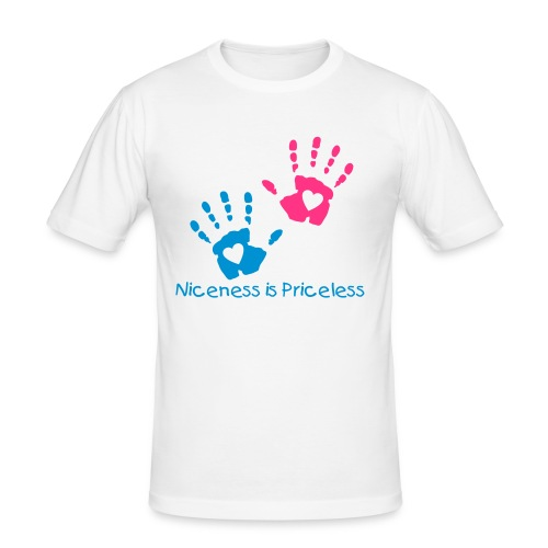 """Men's"" Niceness is Priceless Charity T-shirt  - Men's Slim Fit T-Shirt"
