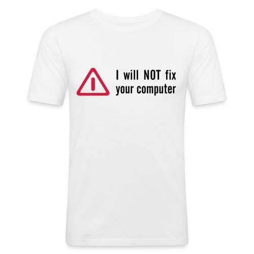 No lo voy a reparar - Camiseta ajustada hombre